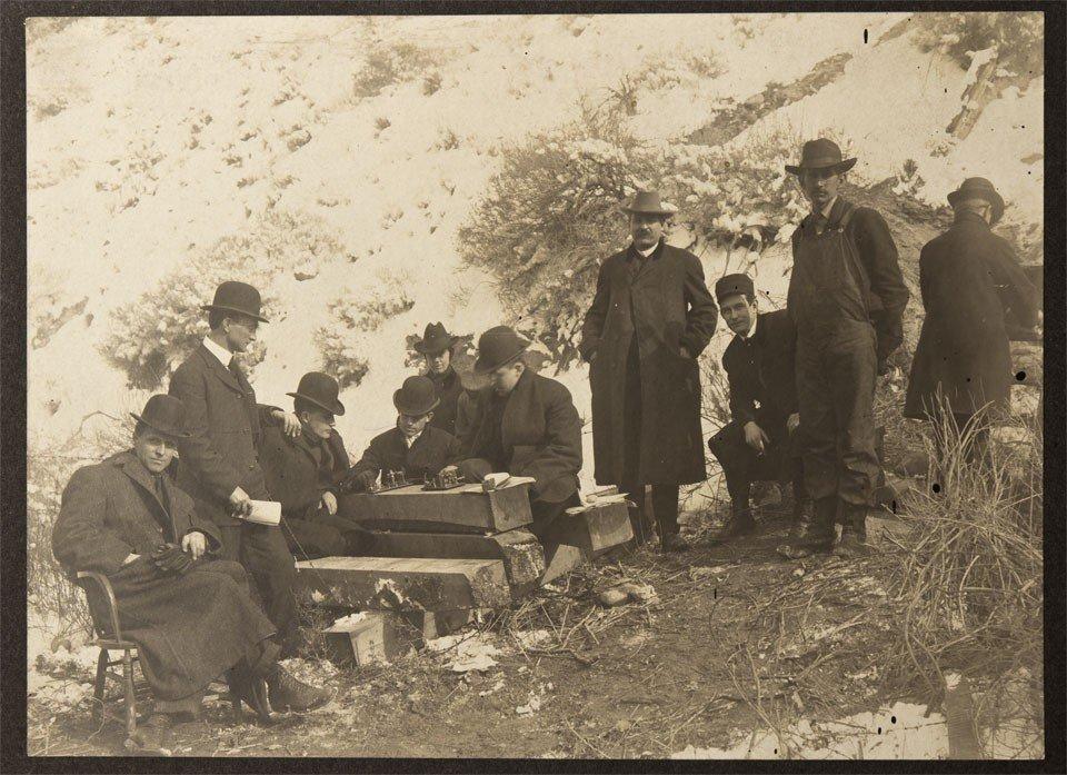 125: c1906 - Western Union Telegraph Field Office Photo