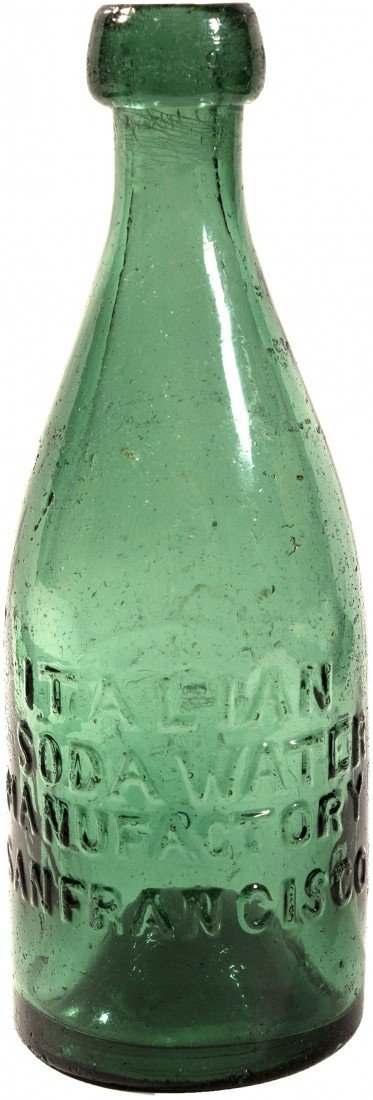 493: CA - San Francisco,c18521860 - Gold Rush Bottle
