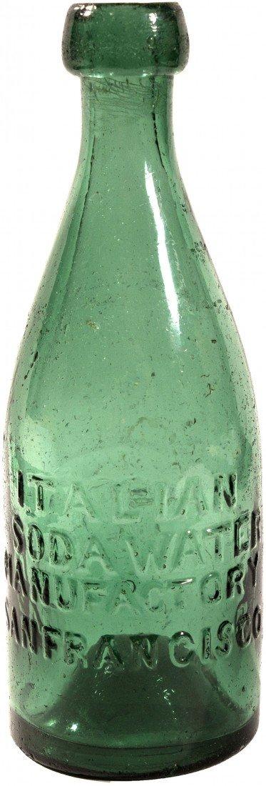 493: CA - San Francisco,c18521860 - Gold Rush Bottle