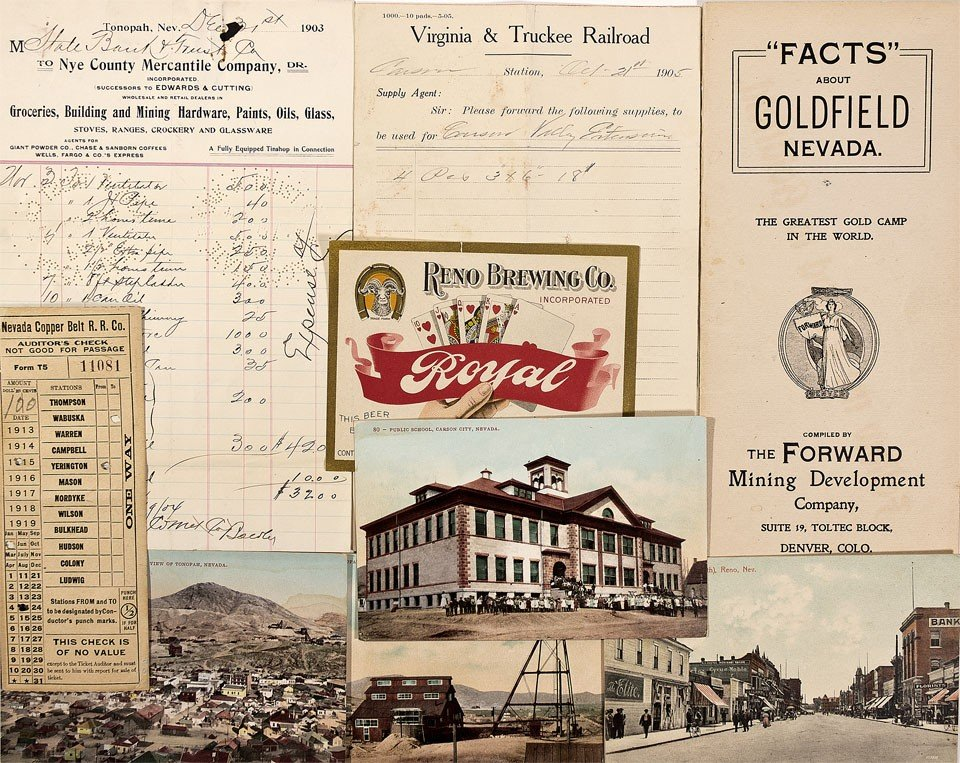 903: NV - 1903, 1905, 1906, 1909 - Nevada Mining Relate