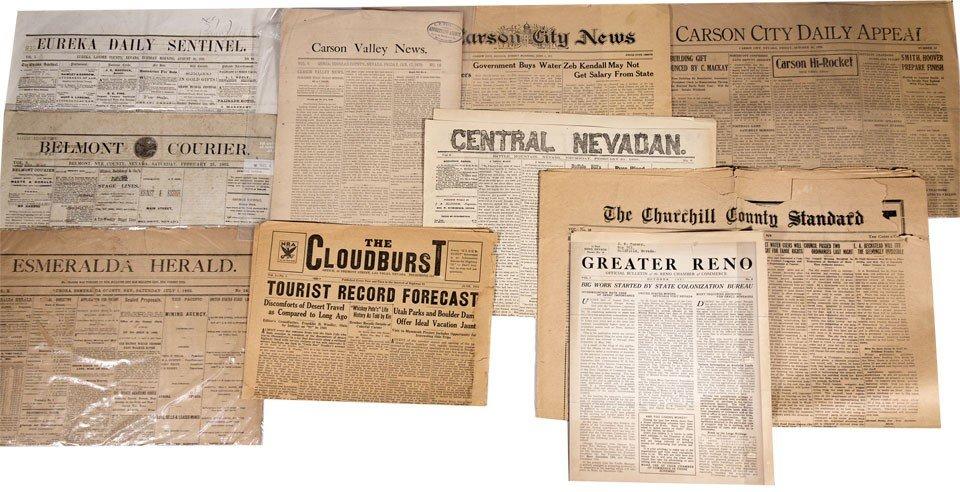 906: NV - 1807-1999 - Nevada Newspapers Collection - Gi