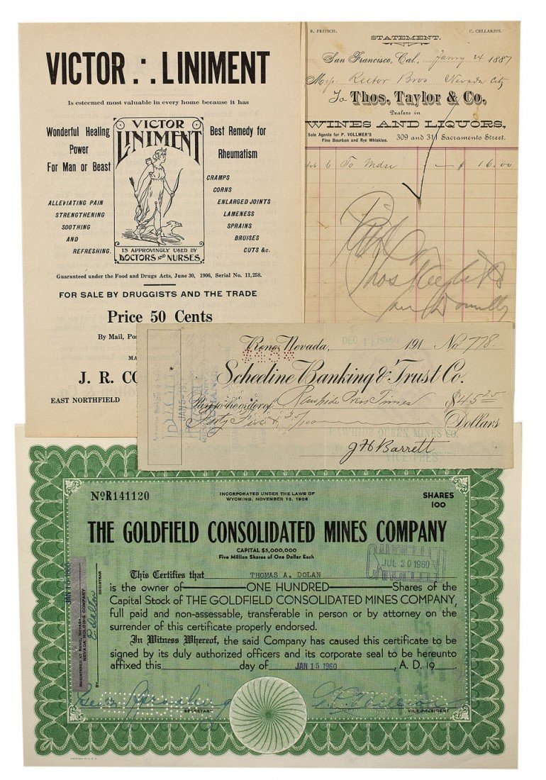 902: NV - 1887, 1910, 1960 - Nevada Document Group
