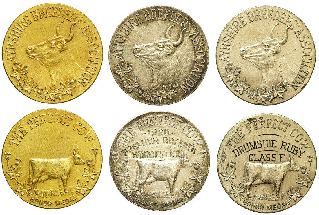 Dairy Award Medals