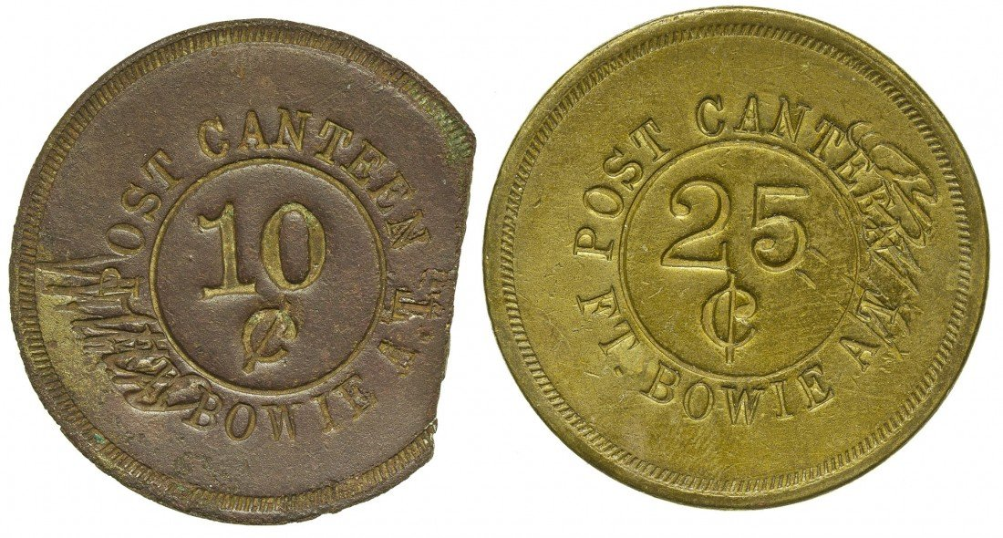 Post Canteen Military Tokens