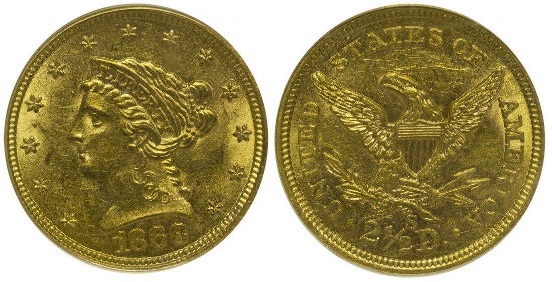 2 1/2 Dollar US Mint Gold Coin