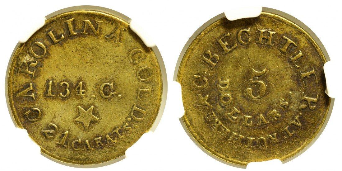 C. Bechtler Five Dollar Coin