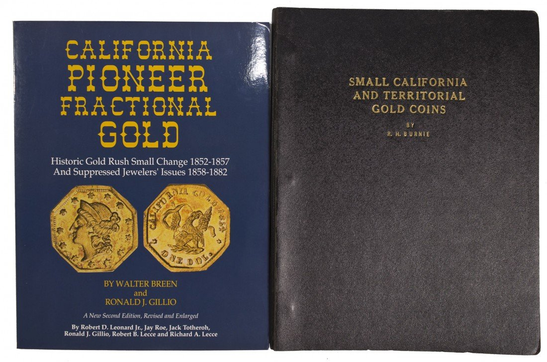 California Fractional Gold Reference Books