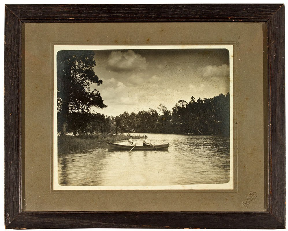 Antique Row Boat Photograph -