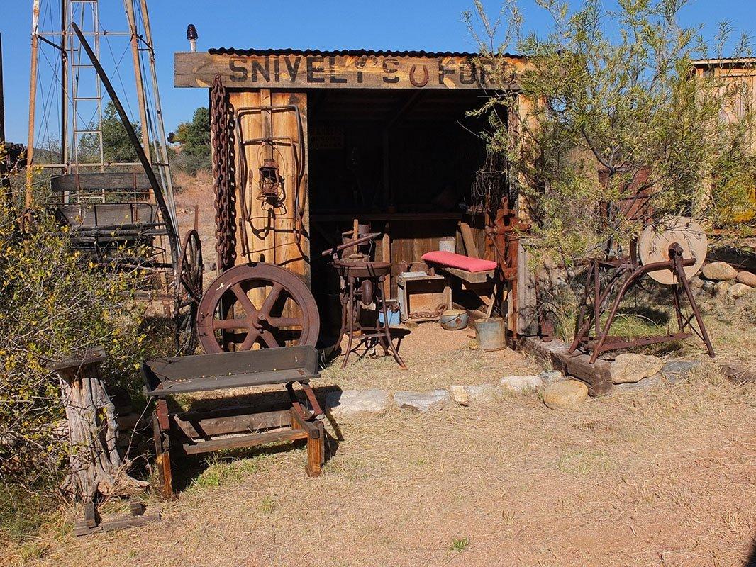 Snively Building Blacksmith Shop -