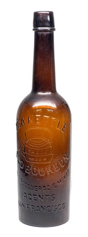 Teakettle Whiskey Bottle -