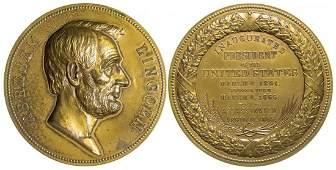 Abraham Lincoln Copper US Mint Medal -