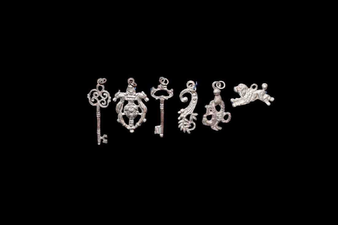 Post Medieval Witch Charm Group