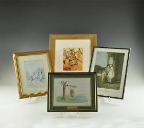 Framed Painting Group