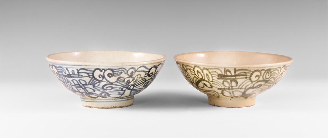 Chinese Ming Bowl Pair