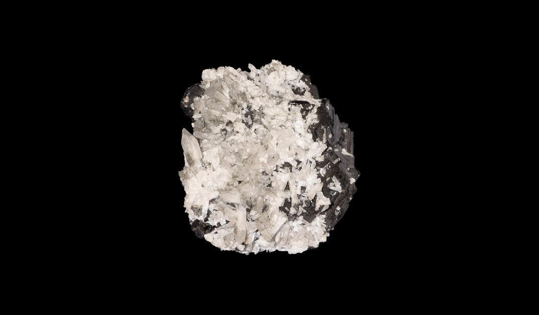 Natural History - Sphalerite and Quartz Specimen