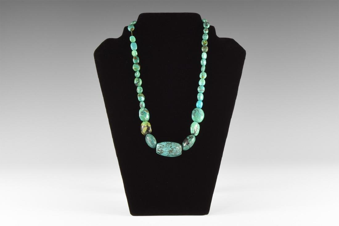 India 'Turquoise' Bead Necklace