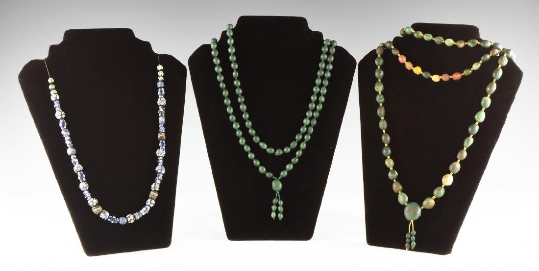 Vintage Mixed Bead Necklace Group