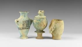 Egyptian Style Vessel Group