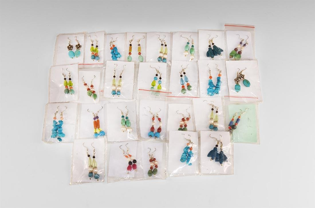 Vintage Drop Earring Pairs Group