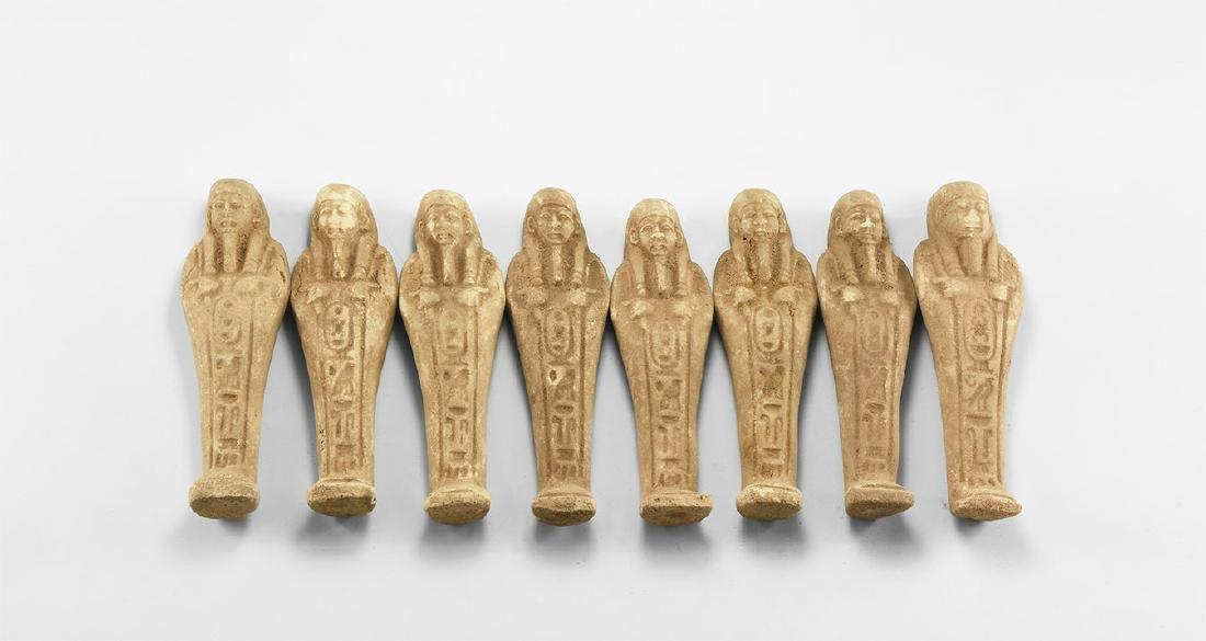 Egyptian Style Shabti Group