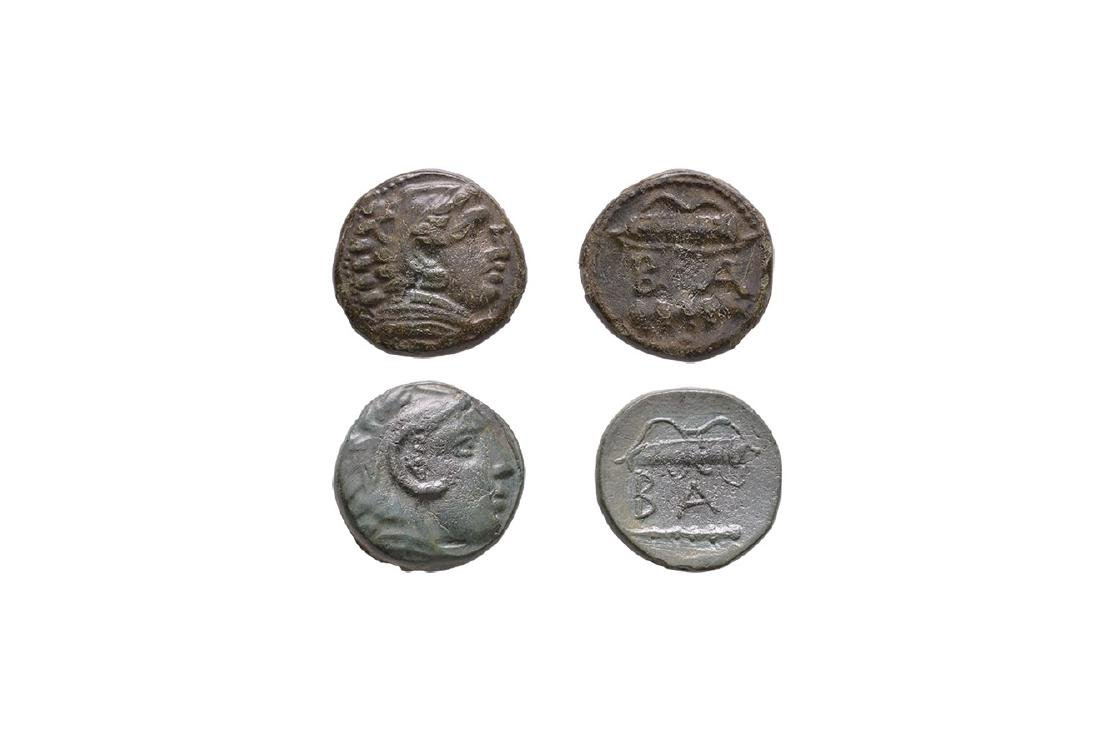 Greek Coins - Alexander III - AE Group [2]