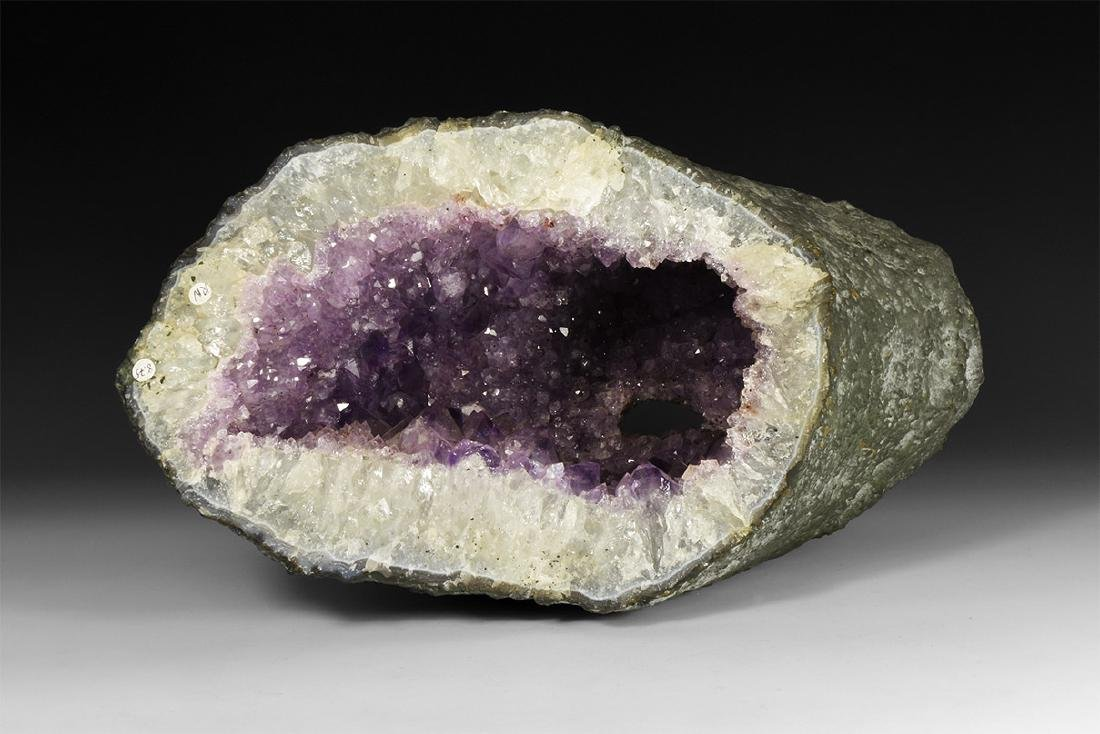 Amethyst Crystal Tunnel.