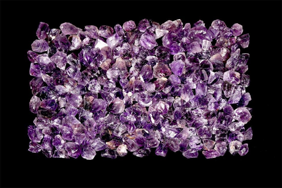 250 Amethyst Mineral Specimens.