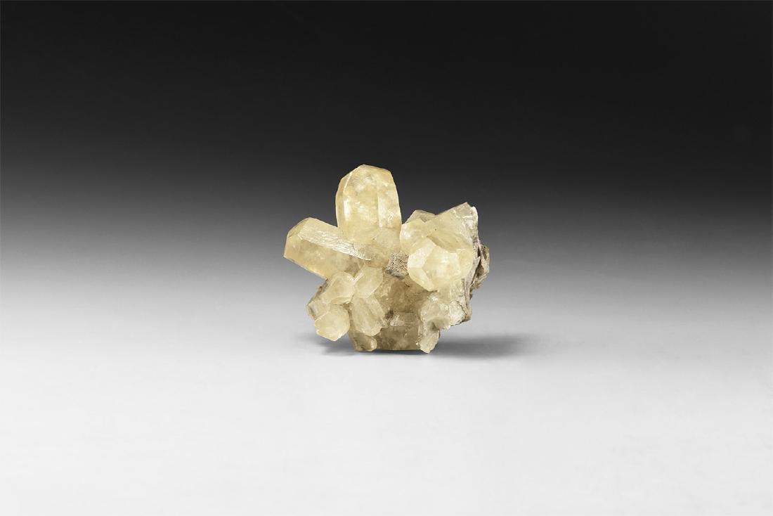 Yellow Calcite Cystal Specimen.
