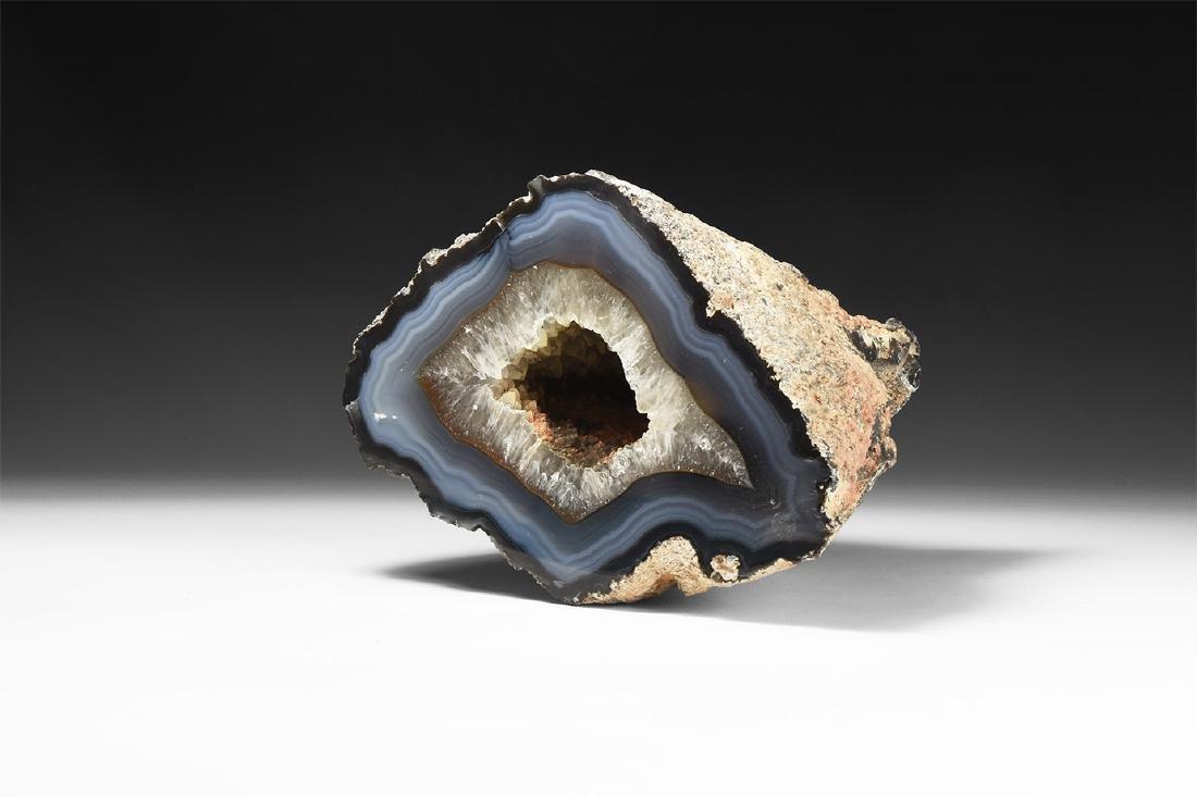 Large Agate Geode Specimen.