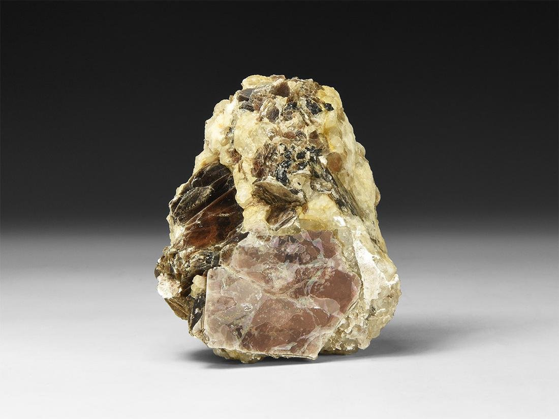 Muscovite with Quartz Mineral Specimen.