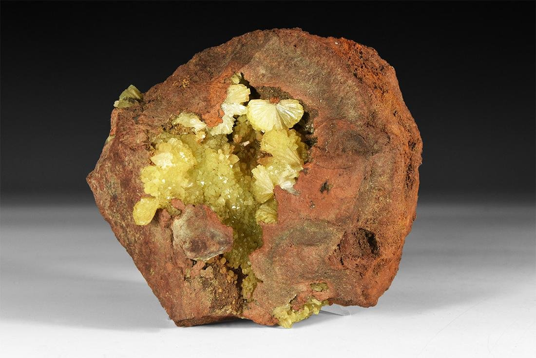 Adamite Mineral Specimen.