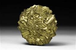 Pyrite Sun Mineral Specimen