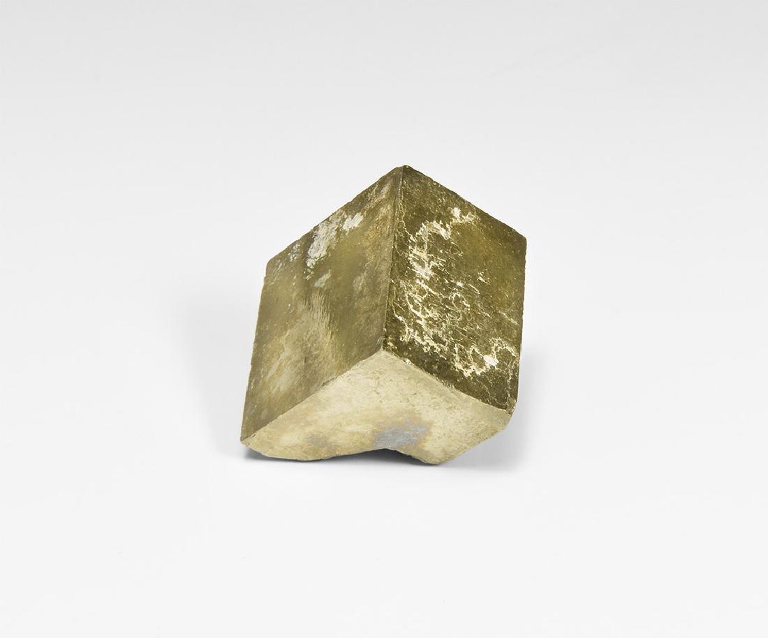 Large Pyrite Cube.