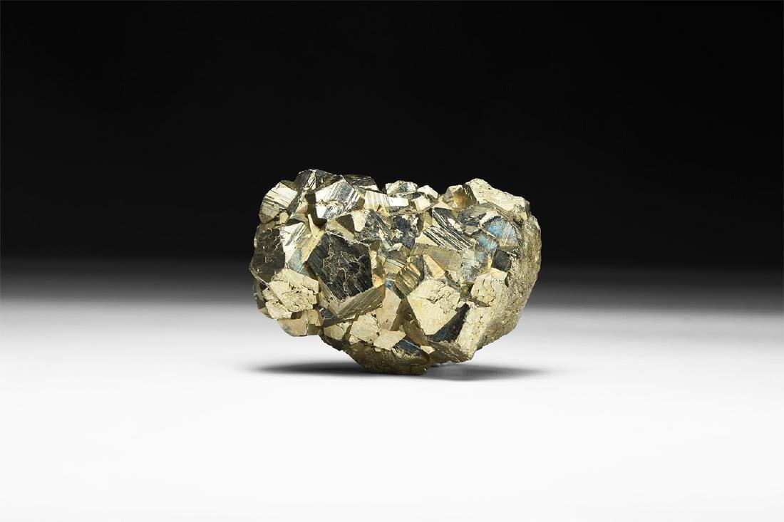 Pyrite Mineral Specimen.