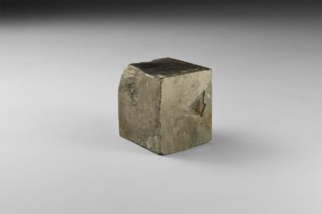 Pyrite Cube Mineral Specimen.