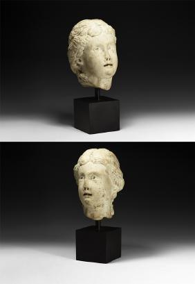 Roman Head of a Muse