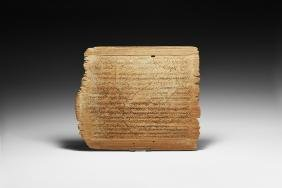 Roman Tablet Recording Sale of Agricultural Land