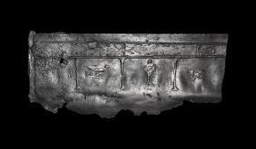 Roman Panel with Pluto, Bird and Lion