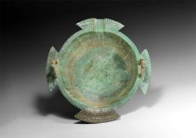 Islamic Large Calligraphic Bowl