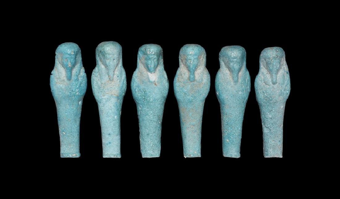 Egyptian Miniature Shabti Group