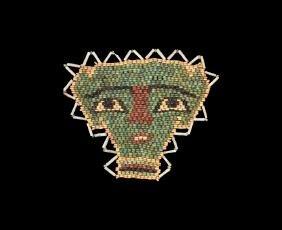 Egyptian Mummy Bead Mask