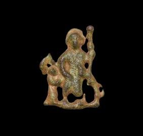 Medieval Saint Christopher Pilgrim's Badge