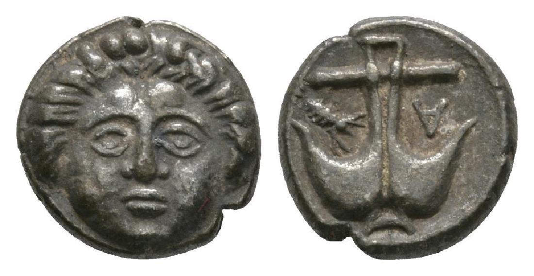 Apollonia Pontica - Anchor Diobol