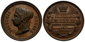 Victoria - 1887 - Golden Jubilee Copper Medallion