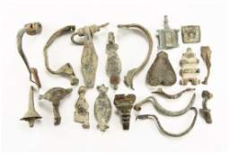 Roman to Post Medieval Mixed Items Group