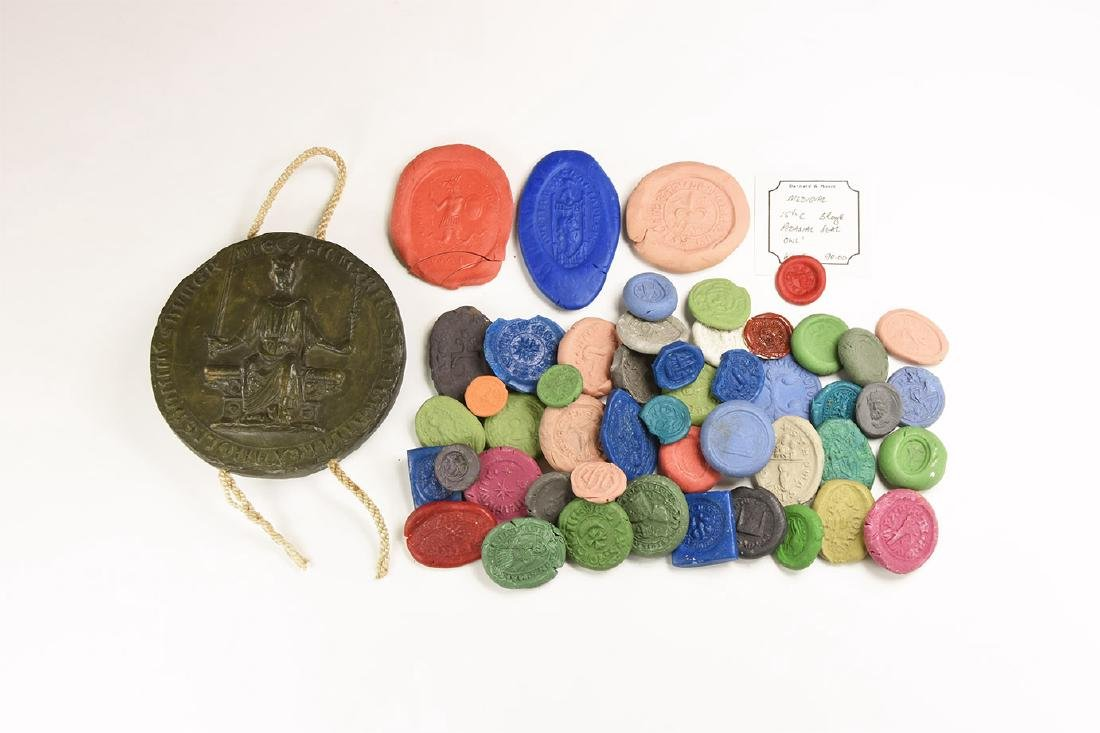 Medieval Royal and Other Seal Impressions Group