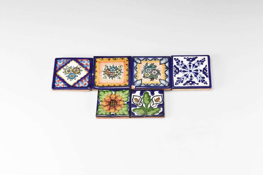 Natural History - Glazed Tile Group