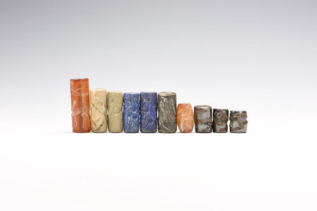 Western Asiatic Style Cylinder Seal Group