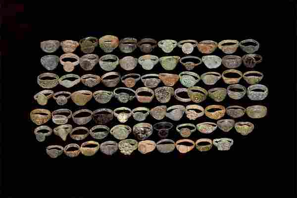Roman to Post Medieval Ring Collection