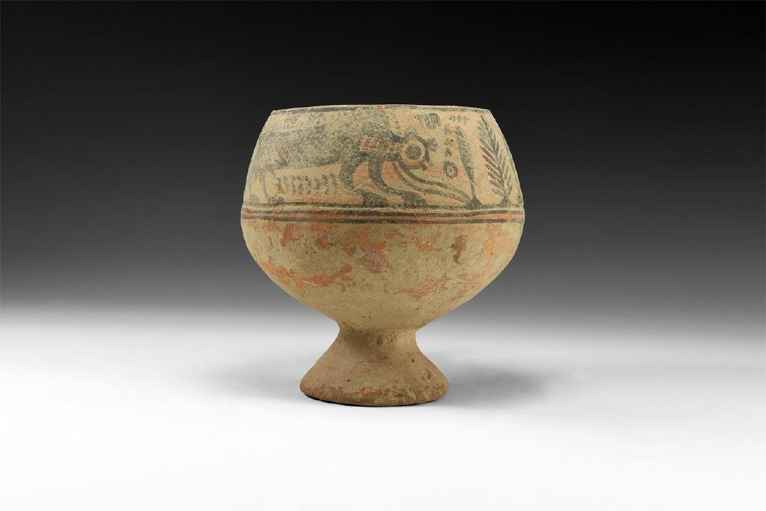 Indus Valley Mehrgarh Chalice with Beasts